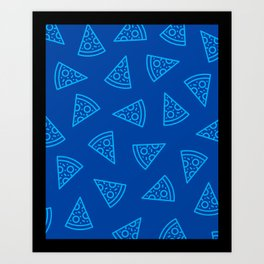 Pizza! Art Print