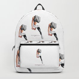 """HANDSOME BRIEFS"" BY ROBERT DALLAS Backpack"