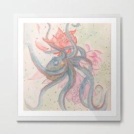 Colorful Entanglement Metal Print