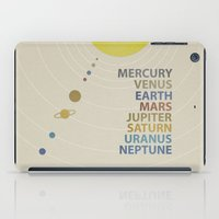 solar system iPad Cases featuring Solar System by avoid peril