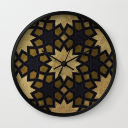 Design based on oriental graphic motifs Wall Clock