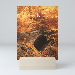 Golden Crossing Mini Art Print