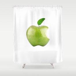 Fresh Green Apple! Beloved Apple! Shower Curtain