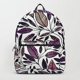Floral Illustration - Leaf - No*45 Backpack