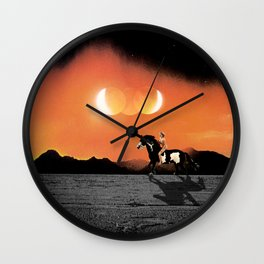 A Horse With No Name Pt.2 Wall Clock