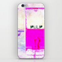 pulp iPhone & iPod Skins featuring Pulp by PeDSchWork