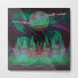 Temporary Darkness Metal Print
