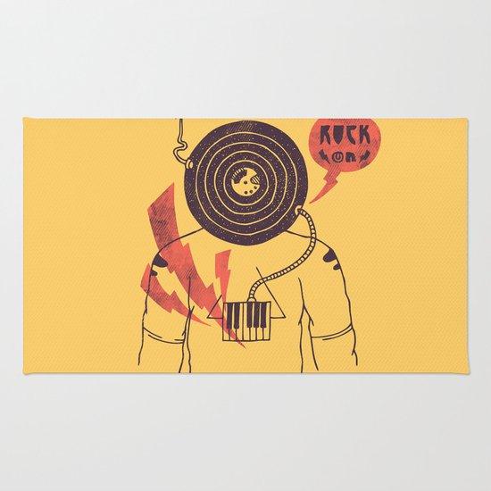 The Vinyl Frontier (alternate) Rug