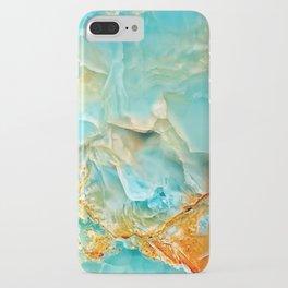 Onyx - blue and orange iPhone Case