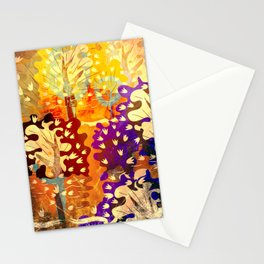 Gold forest Stationery Cards