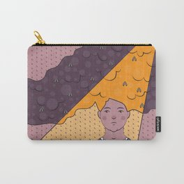 Bad Hair Day Illustration Carry-All Pouch