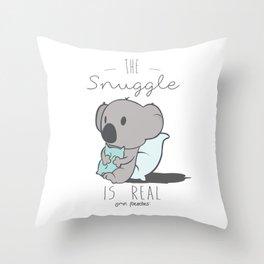 Koala Snuggle Throw Pillow