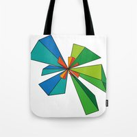 3d Tote Bags featuring 3D by MeMRB