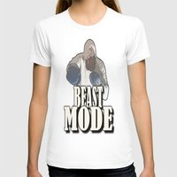 boxing T-shirts featuring BOXING  by Robleedesigns
