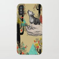 power iPhone & iPod Cases featuring Found You There  by Sandra Dieckmann