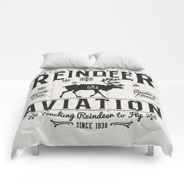 Reindeer Aviation - Christmas Comforters