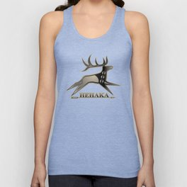 Elk Spirit (Gray) Unisex Tank Top