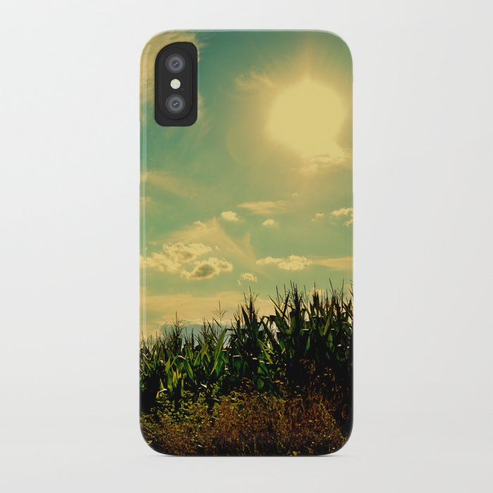At the Edge iPhone Case