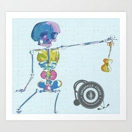 Ukulele Baby Art Print