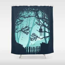 Don't Look Back In Anger Shower Curtain