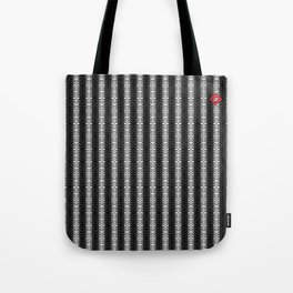 Abstract Tribal Zebra Pattern Tote Bag