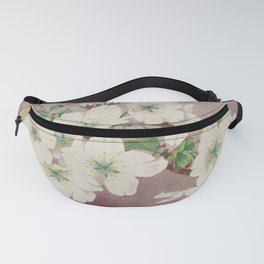 Shirayuki - White Snow Cherry Blossoms Fanny Pack