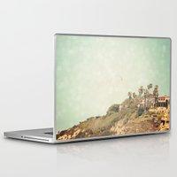 west coast Laptop & iPad Skins featuring West Coast 1 by Sylvia C