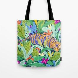 Colorful Jungle Tote Bag