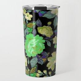 july roses & butterflies Travel Mug