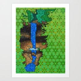Munising Falls Art Print