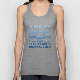 Aviation Ordnanceman Woman Unisex Tank Top