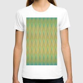 Argyle Golden Turquoise Shimmer T-shirt