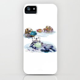 The Otter's Tea iPhone Case