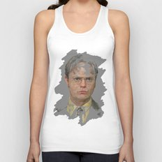 Dwight Schrute, The Office Unisex Tank Top