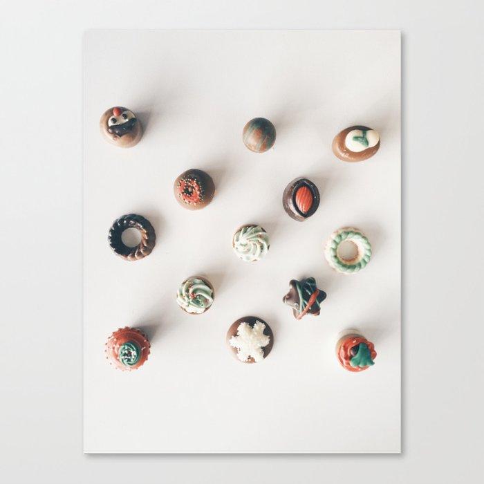 Chocolates - Life is Like a Box of Chocolates Canvas Print