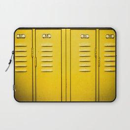 Yellow Lockers Laptop Sleeve