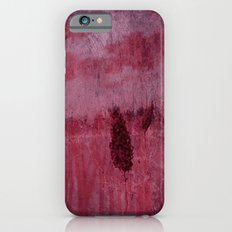 Red is Winter ~ Abstract Slim Case iPhone 6s