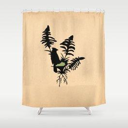 Kentucky - State Papercut Print Shower Curtain