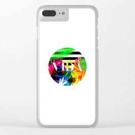 LA VIDA TROPICÁLIA Clear iPhone Case