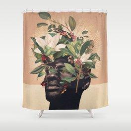 Birds are my Real Origin Reversed Shower Curtain
