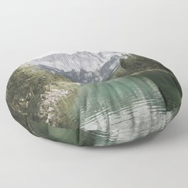 Looks like Canada - landscape photography Floor Pillow