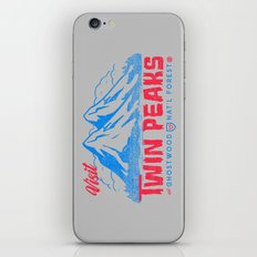 Visit Twin Peaks (hot pink) iPhone & iPod Skin
