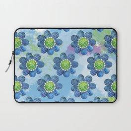 Blue Whimsy Laptop Sleeve