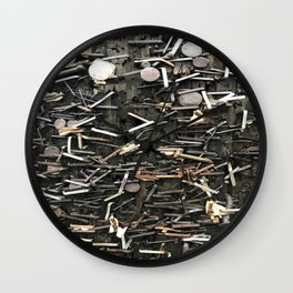 Staples and Nails it! Wall Clock