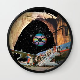 Destined to Destination Wall Clock