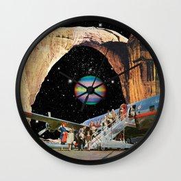 Destined to Destination Wall Clock