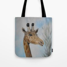 Giraffe Smile Tote Bag