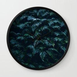 fern field Wall Clock