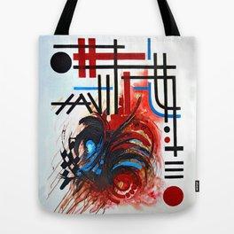 Between Light & Wind Tote Bag