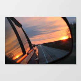 Wisconsin Road Trip Canvas Print